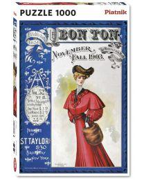 Bon Ton Magazine 1903, 1000 Piece Puzzle