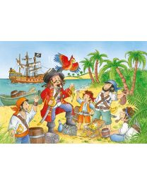 Pirate Pals, 2 x 20 pc Puzzle