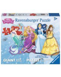 Pretty Princesses, 24 Piece Floor Puzzle