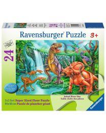 Dino Falls, 24 Piece Floor Puzzle