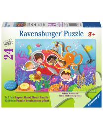 Deep Diving Friends, 24 Piece Floor Puzzle