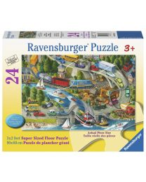 Vacation Hustle, 24 Piece Floor Puzzle
