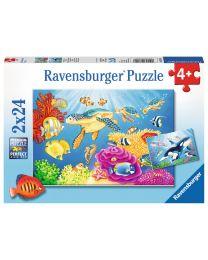 Vibrance Under the Sea, 2 x 24 Piece Puzzle