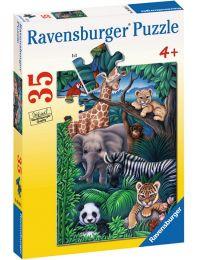 Animal Kingdom, 35 Piece Puzzle