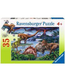 Dinosaur Playground, 35 Piece Puzzle