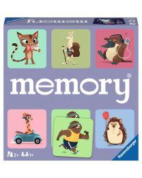 Wild World of Animals Memory Game
