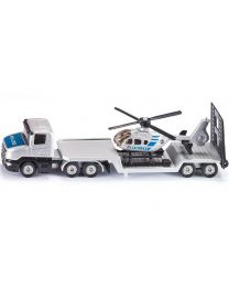 Low Loader with Helicopter