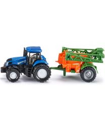 Tractor with Crop Sprayer