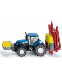 New Holland Tractor with Kverneland Crop Sprayer, 1:87