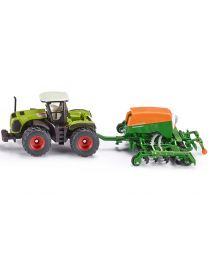 Claas Xerion Tractor with Amazone  seeder