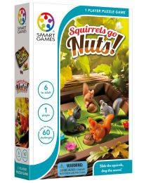 Squirrels Go Nuts! Logic Game