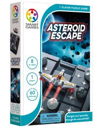 Asteroid Escape Logic Game