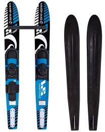"Junior Combo Skis, 54"" Blue Danube"