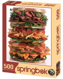Snack Stack, 500 Piece Puzzle