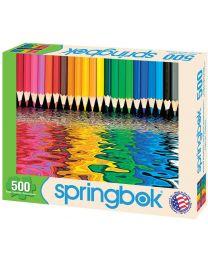 Pencil Pushers, 500 Piece Puzzle
