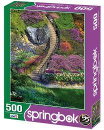 Garden Stairway, 500 Piece Puzzle