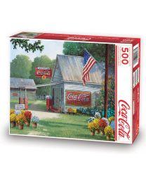 Coca-Cola Country General Store, 500 Piece Puzzle