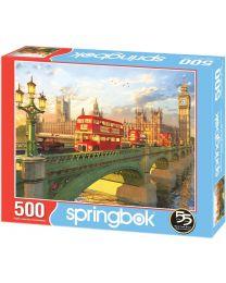 Westminster Bridge, 500 Piece Puzzle