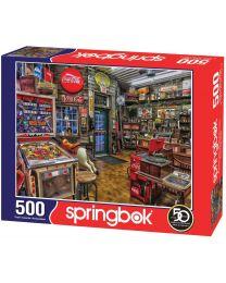 Good Nabor Stores, Coca Cola, 500 Piece Puzzle