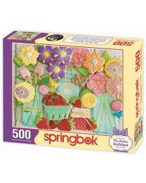 Spring Cookies, 500 Piece Puzzle