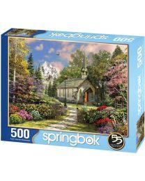 Mountain View Chapel, 500 Piece Puzzle