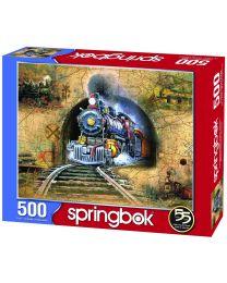 Full Speed Ahead!, 500 Piece Puzzle