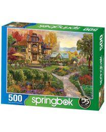 Vineyard Retreat, 500 Piece Puzzle