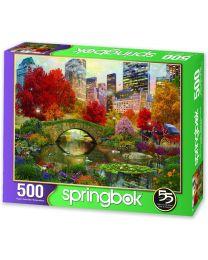 Central Park Paradise, 500 Piece Puzzle
