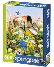 Bluebirds, 500 Piece Puzzle