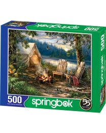 Evening at the Lake, 500 Piece Puzzle