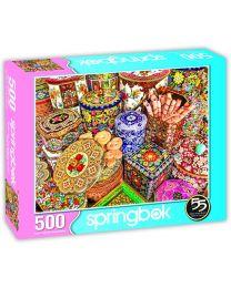 Cookie Tins, 500 Piece Puzzle