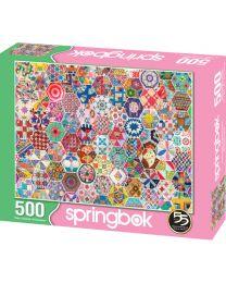 Crazy Quilts, 500 Piece Puzzle