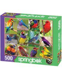 Birds of Paradise, 500 Piece Puzzle