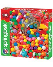 Gumballs & Gumdrops, 1000 Piece Puzzle