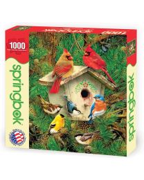 Feathered Retreat, 1000 Piece Puzzle