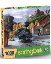 Mountain Express, 1000 Piece Puzzle