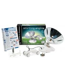 Stirling Engine, Car and Experiment Kit