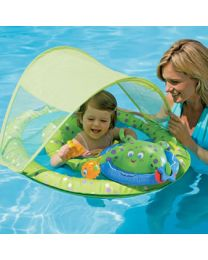 Baby Spring Float Activity Center w/ Canopy