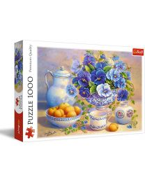 Blue Bouquet, 1000 Piece Puzzle
