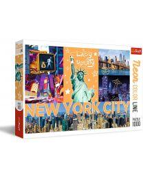Neon City, Neon Color Line, 1000 Piece Puzzle