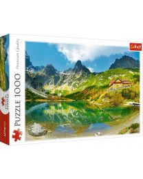 Shelter over the Green Pond, Tatras, Slovakia, 1000 Piece Puzzle