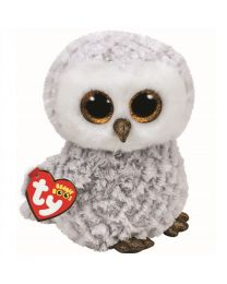 Beanie Boos, Owlette, White Owl, Medium