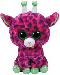 Beanie Boos, Gilbert, Pink Giraffe, Medium