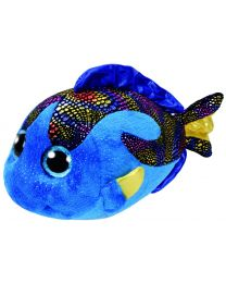 Beanie Boos, Aqua, Blue Fish, Medium