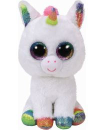 Beanie Boos, Pixy, White Unicorn, Medium