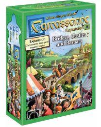 Carcassonne Expansion 8: Bridges, Castles and Bazaars