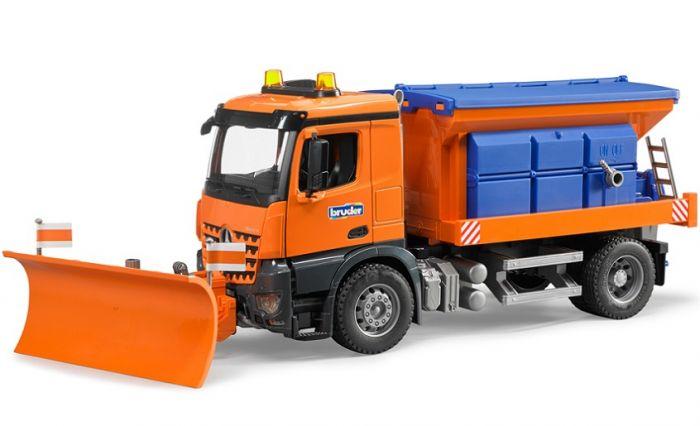 Mb Arocs Snow Plow Truck Playvaluetoyscom
