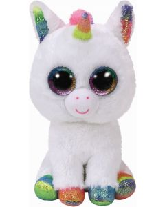 Beanie Boos, Pixy, White Unicorn, Medium