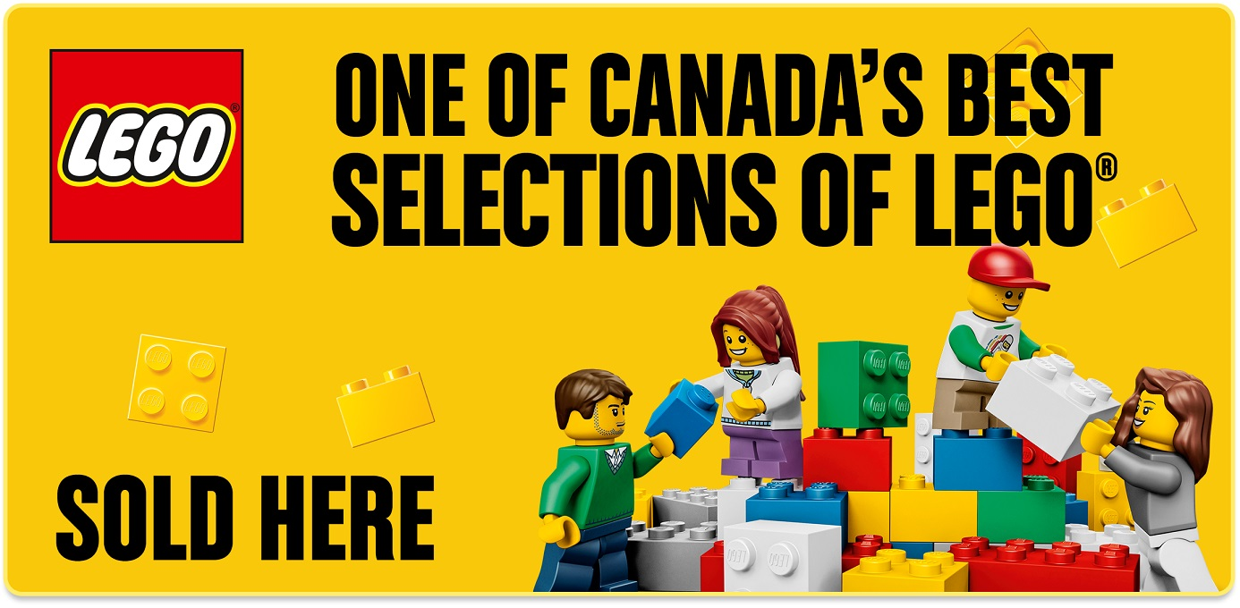 One of Canada's Best Selections of LEGO Sold Here