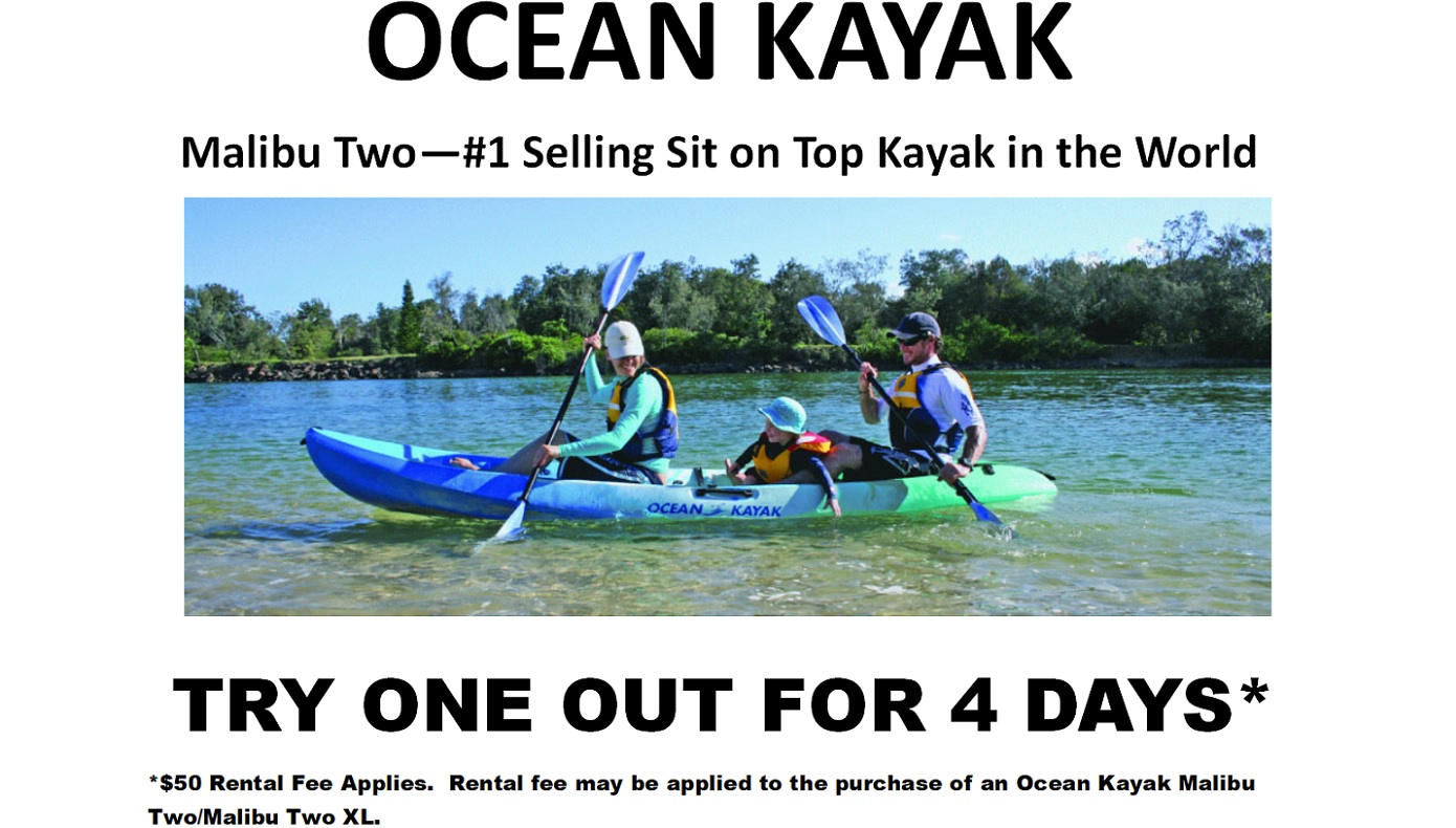 Ocean Kayak Sold Here